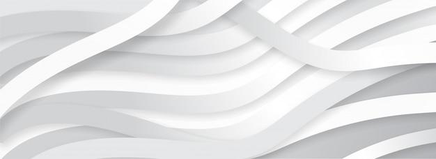 Achtergrond van het de stijl de golvende patroon van de documentorigami.