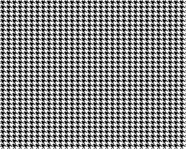 Achtergrond van het stoffen houndstooth de naadloze patroon.