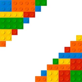 Achtergrond van lego