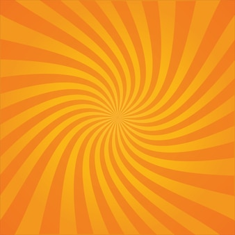 Achtergrond van retro stripboek stijl gestreepte spiraal explosie of zonnestralen met licht en donker verloop