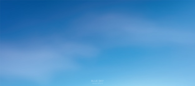 Achtergrond van zachte witte wolken tegen blauwe hemel.
