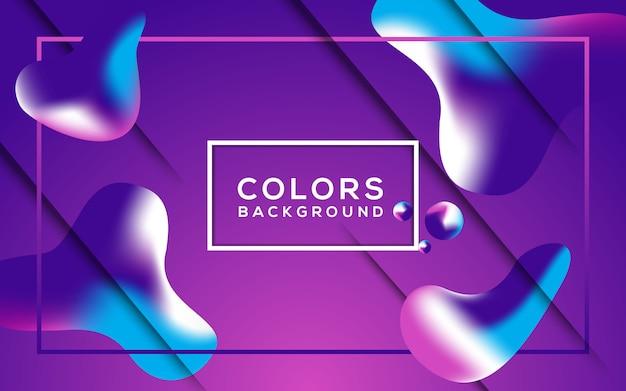 Achtergrond veelkleurig abstract
