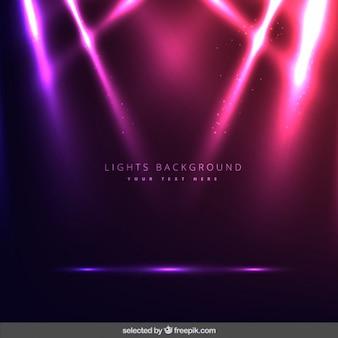 Achtergrond verlichting in roze kleur