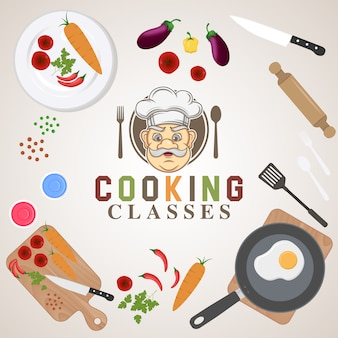 Achtergrond voedsel ontwerp