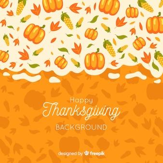 Achtergrond voor thanksgiving day-thema
