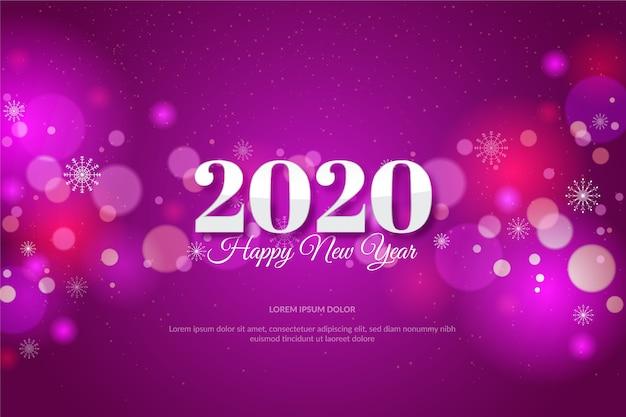 Achtergrond wazig nieuw jaar