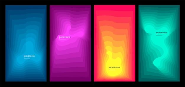Achtergrondafbeeldinggeometrischevloeistof