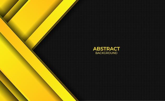 Achtergrondgradiënt helder geel ontwerp abstracte stijl