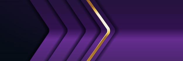 Achtergrondlicht met abstracte kleur moderne banner goud