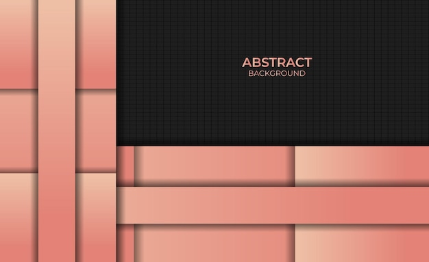 Achtergrondontwerp met abstracte stijlgradiënt oranje kleur