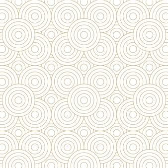 Achtergrondontwerp met gouden cirkelpatroon