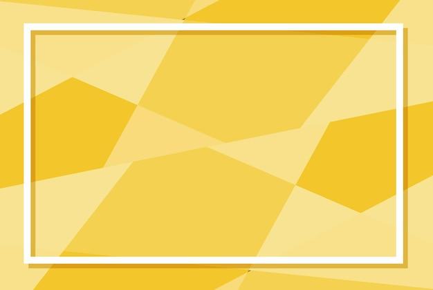 Achtergrondsjabloon met gele patronen