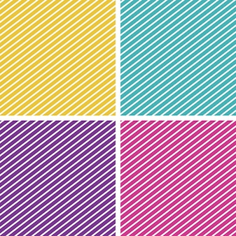 Achtergrondsjabloon met gestreepte patronen