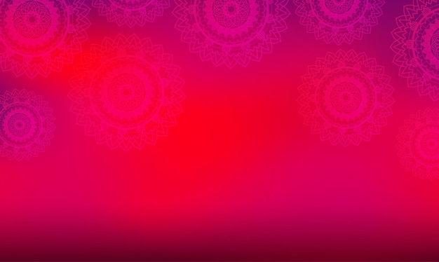 Achtergrondthema met mandala-patronen