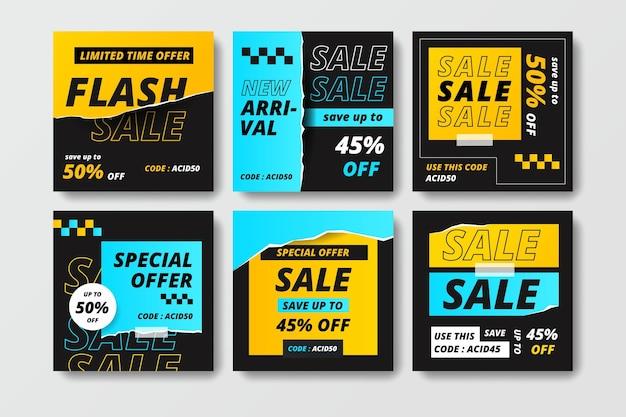 Acid sale ig post collection