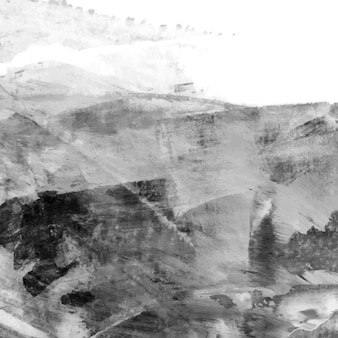 Acryl penseelstreek gestructureerde achtergrond vector