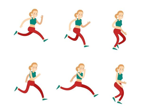 Actieve training vrouwenset