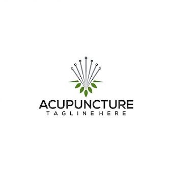 Acupunctuur logo concept