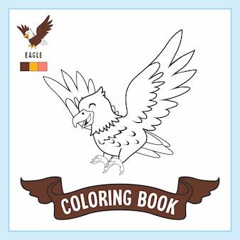 Adelaar dieren kleurboek pagina's