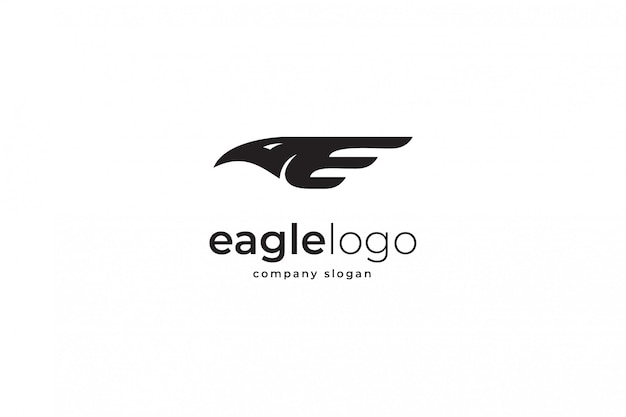Adelaar logo sjabloon