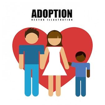 Adoptie concept