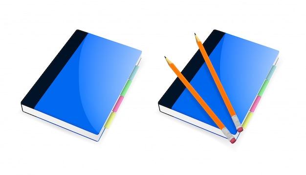 Adresboekpictogram voor applicaties en webdesign