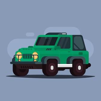 Adventure car jeep