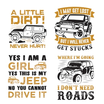 Adventure car quote and saying set