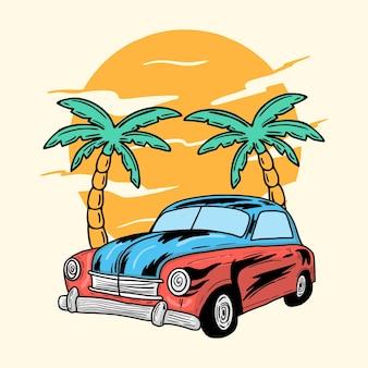 Adventure classic car-boom