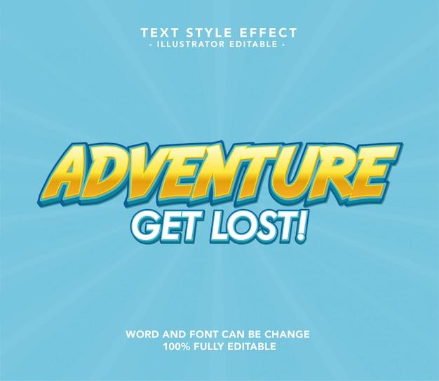 Adventure lettertype