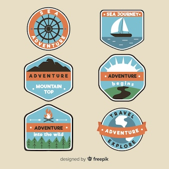 Adventure logo-collectie