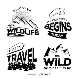 Adventure logo-collectie