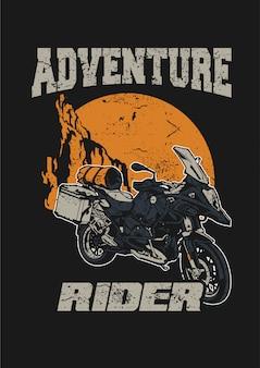 Adventure rijder