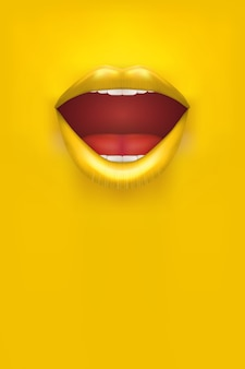 Advertentie vrouw poster