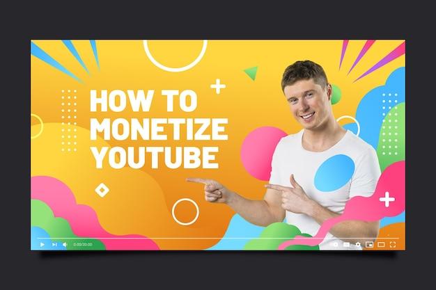 Advies youtube channel art