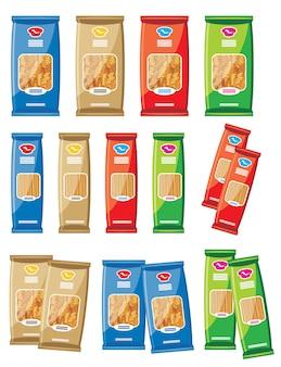Afbeelding van verschillende pasta