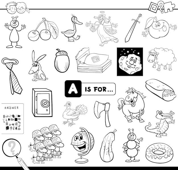 Afbeelding zoeken beginnend met letter a