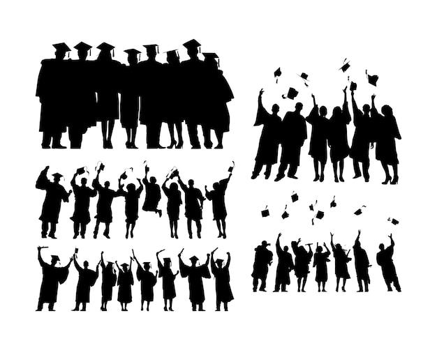 Afgestudeerde mensen