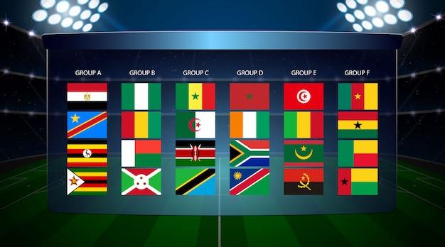 Afrika landen voetbal beker