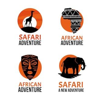 Afrika logo collectie
