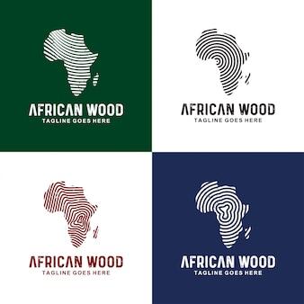 Afrika logo ontwerp