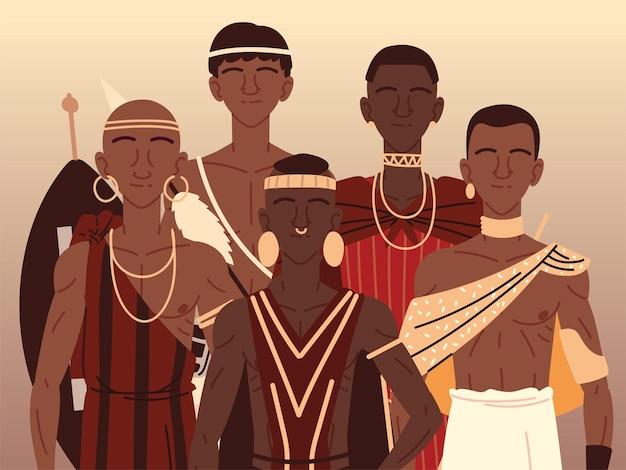 Afrikaanse inheemse mensen