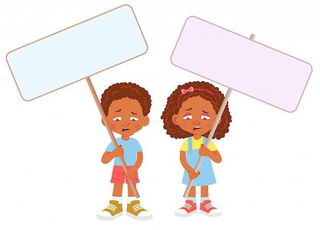 Afrikaanse kind bedrijf banner