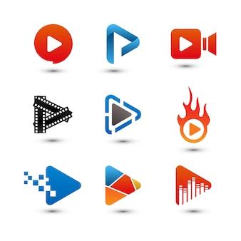 Afspeelknop multimedia