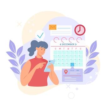 Afspraak boeken kalenderontwerp