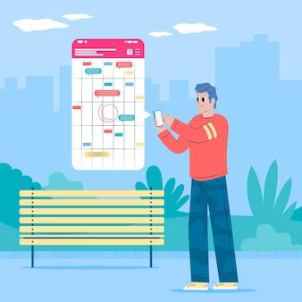 Afspraak boeken met smartphone