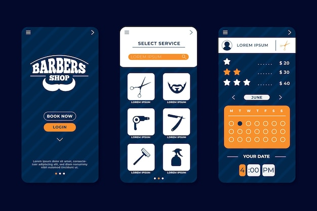 Afspraak boeken voor kapper app