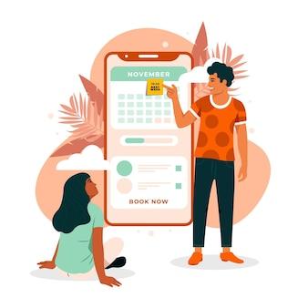Afspraak boekingskalender