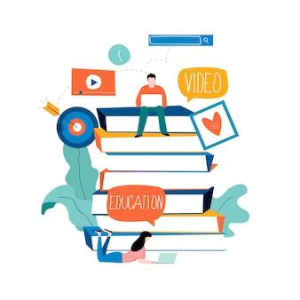 Afstandsonderwijs en internetstudie
