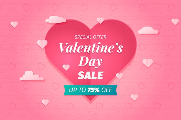 Aftelkalender voor valentijnsdag grote verkoop achtergrond